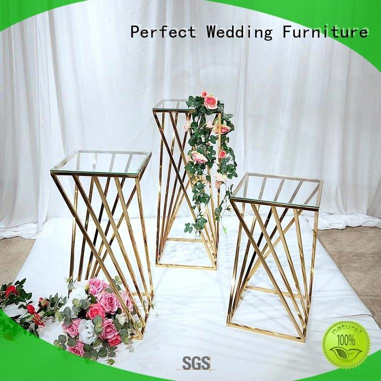 durable flower stand to accommodate for hotel