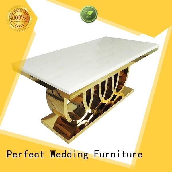 Perfect Wedding Furniture round wedding guest table Suppliers for hotel