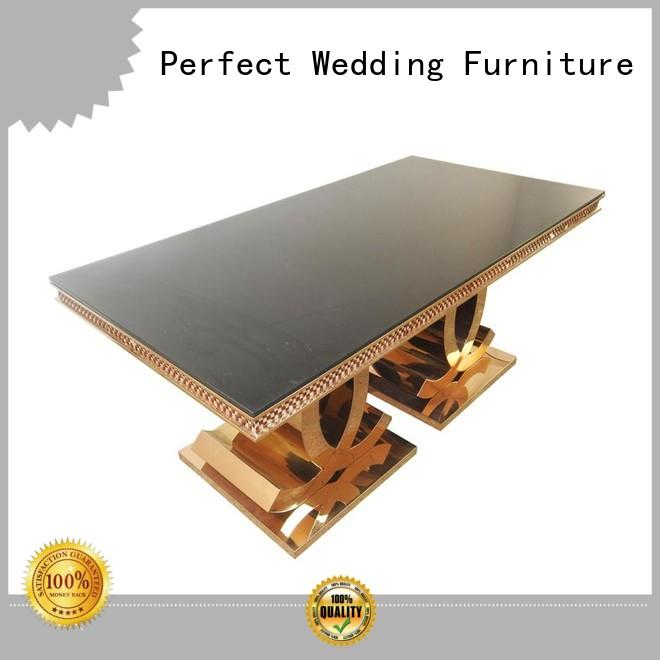 Perfect Wedding Furniture high quality wedding accessories table designs for wedding ceremony