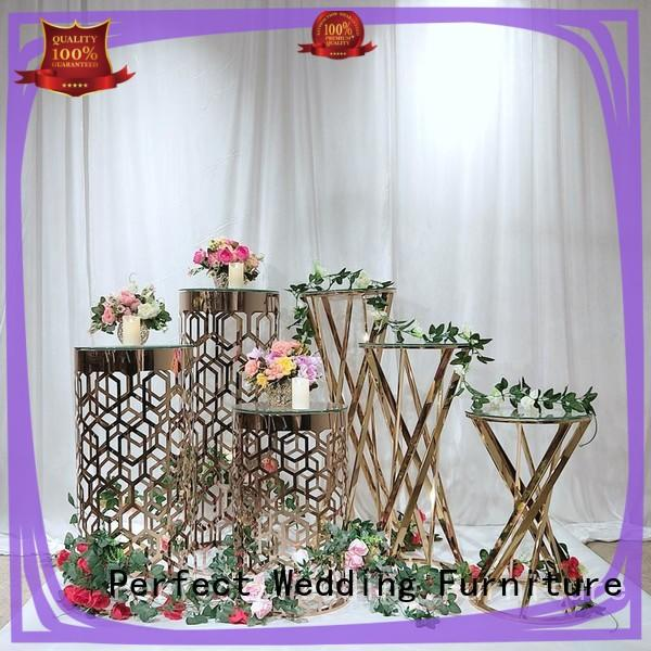 Perfect Wedding Furniture durable wedding flower stand with contemporary manufacturing equipment for hotel