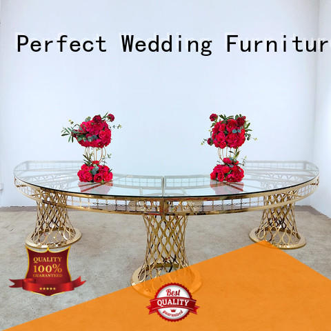 black wedding display table supplier for wedding ceremony Perfect Wedding Furniture