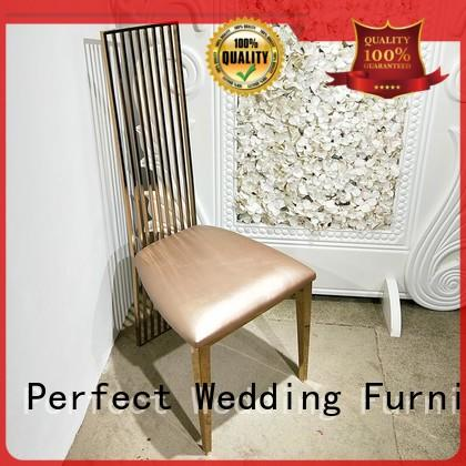 stainless steel gold wedding chairs wedding manufacturer for wedding ceremony