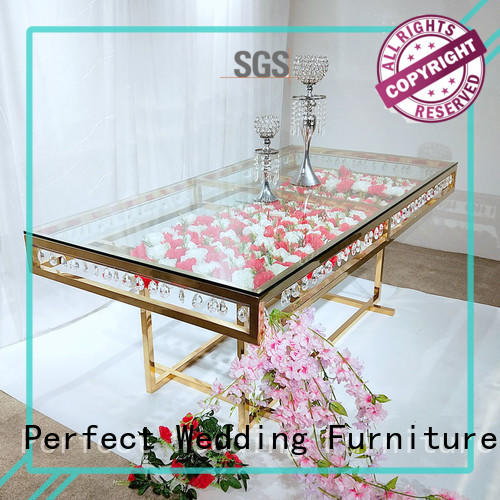 wedding table gold for hotel Perfect Wedding Furniture