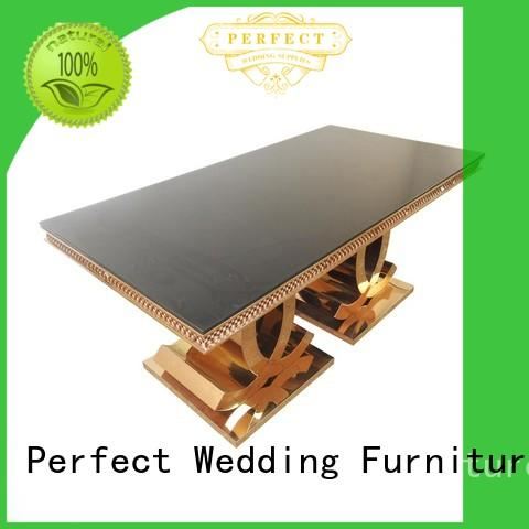 Perfect Wedding Furniture simple wedding table in various sizes for hotel