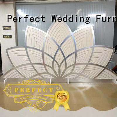 Perfect Wedding Furniture high quality wedding screen white for hotel