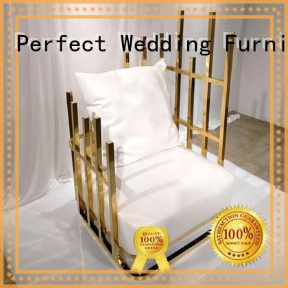 Perfect Wedding Furniture stainless small throne chair supplier for wedding ceremony