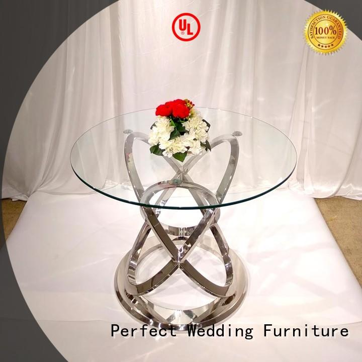 Perfect Wedding Furniture high quality wedding reception table white for hotel