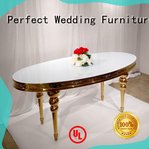 rectangle wedding reception table supplier for dining room