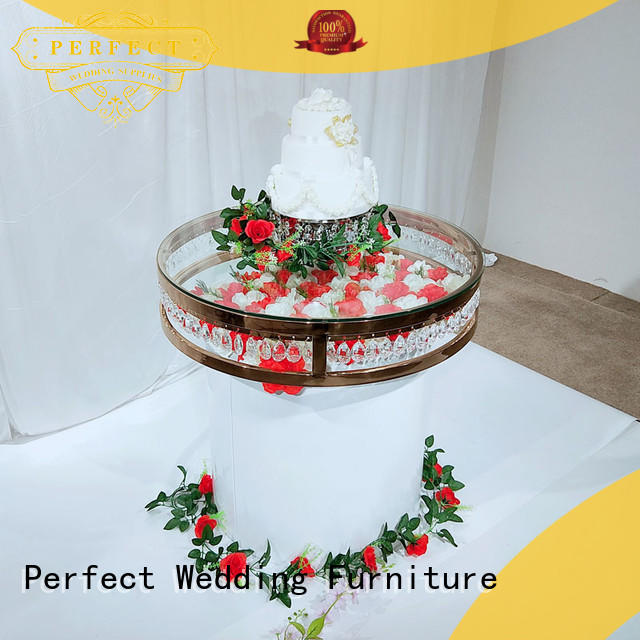 Perfect Wedding Furniture pvc wedding top table ideas supplier for dining room