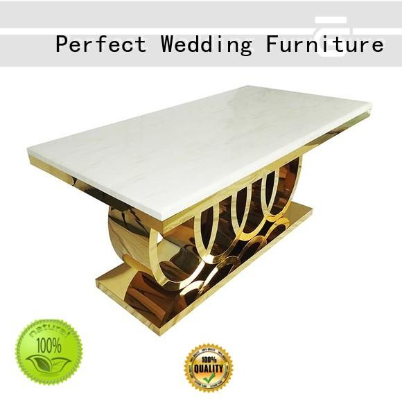 Perfect Wedding Furniture simple wedding reception dining table in various sizes for wedding ceremony