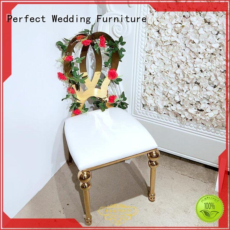 Perfect Wedding Furniture stainless party tables and chairs to meet your needs for hotel