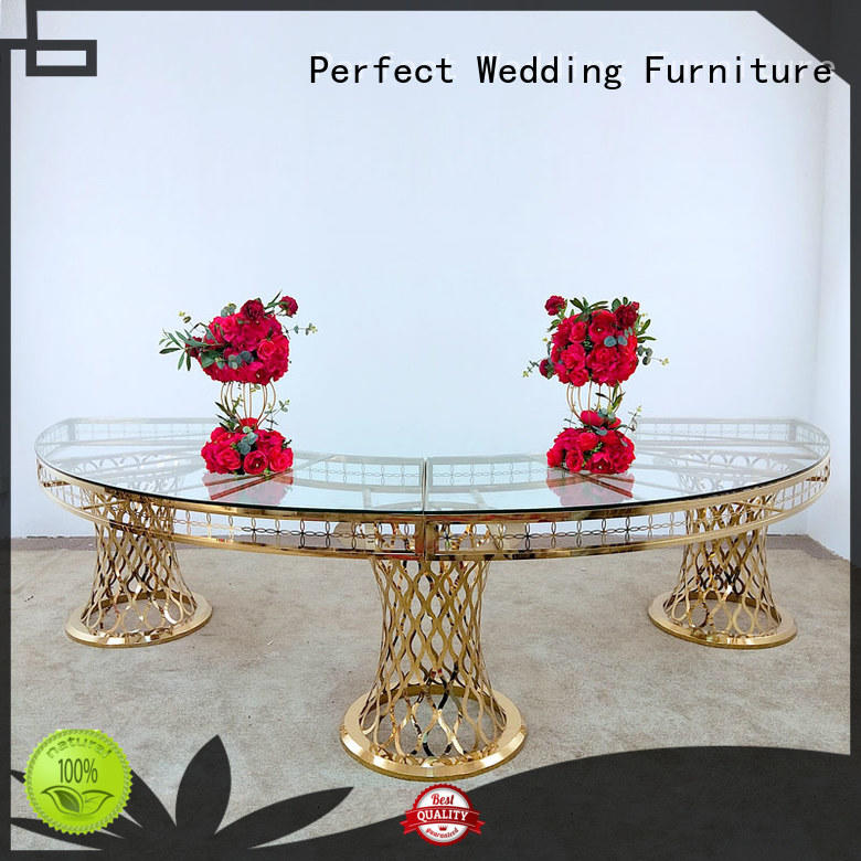 customized wedding top table ideas black wholesale for hotel