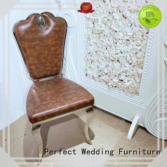 Perfect Wedding Furniture leather catering chairs series for hotel