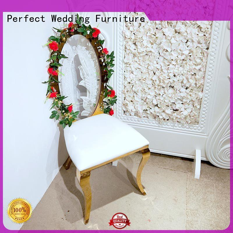 Perfect Wedding Furniture leather bridal chair to meet your needs for wedding ceremony