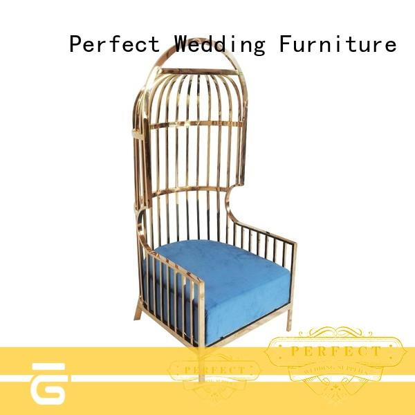 Perfect Wedding Furniture Latest king throne chair Suppliers for wedding ceremony