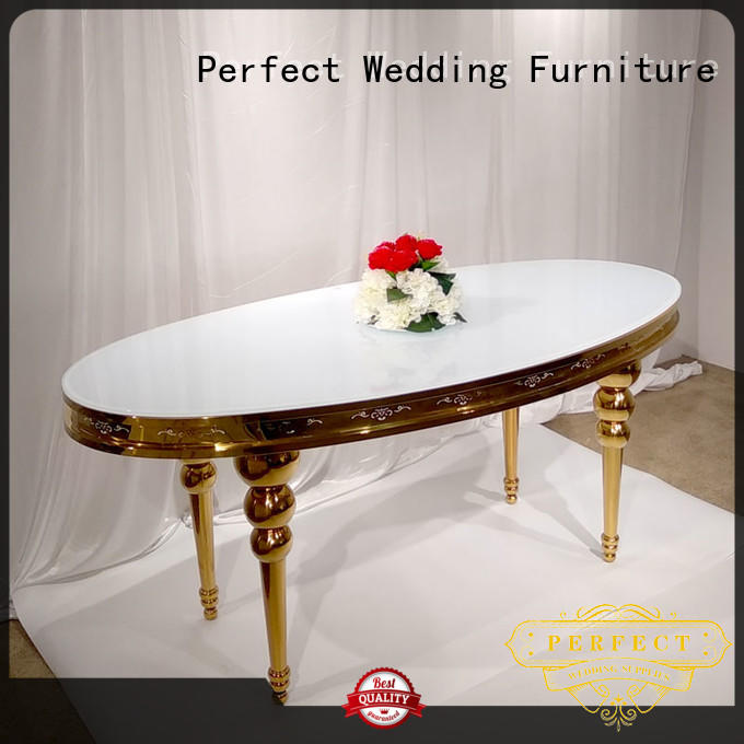 Perfect Wedding Furniture high quality wedding guest table in various shapes for dining room