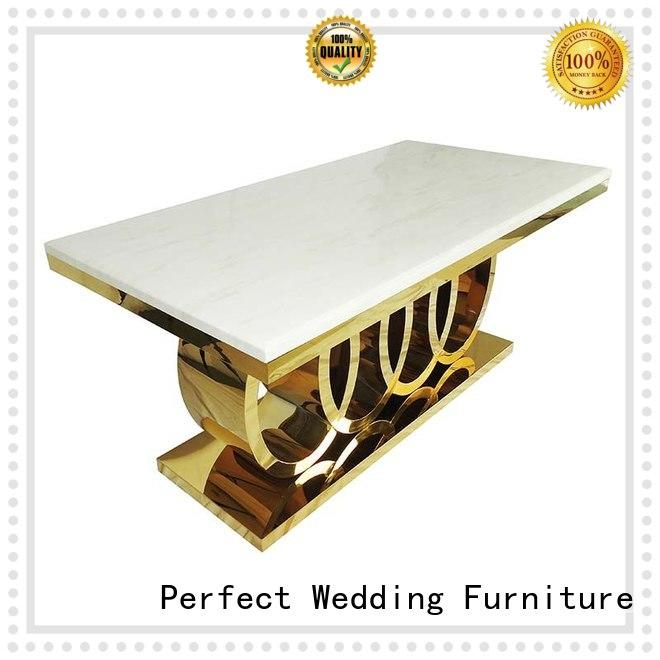 High-quality cheap table decorations for wedding receptions stainless Suppliers for hotel