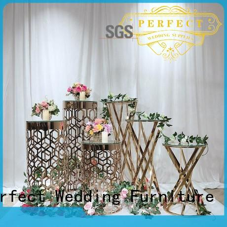 glass wedding centerpiece stands beautiful for wedding ceremony Perfect Wedding Furniture