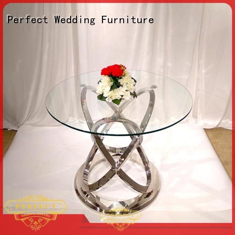 Perfect Wedding Furniture customized wedding party table with contemporary manufacturing series for wedding ceremony