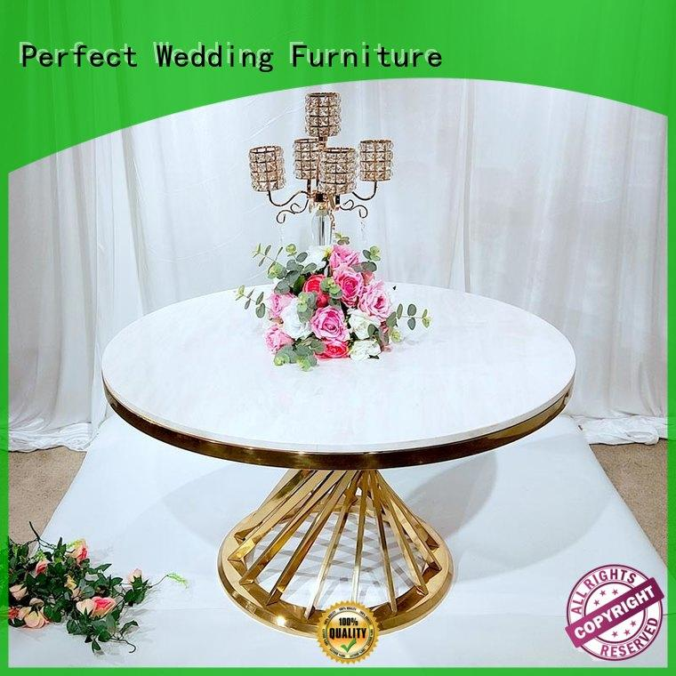 Perfect Wedding Furniture customized wedding guest table in various shapes for hotel
