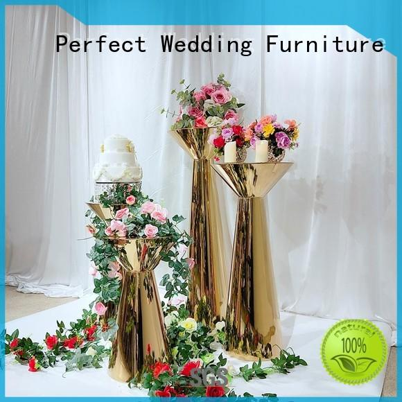 steel tall floral centerpiece stands color for home Perfect Wedding Furniture