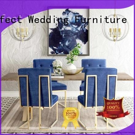 gold his and hers throne chairs for wedding ceremony Perfect Wedding Furniture