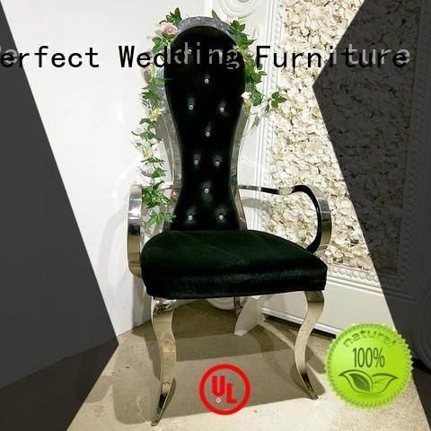 design color throne style chairs steel Perfect Wedding Furniture Brand company