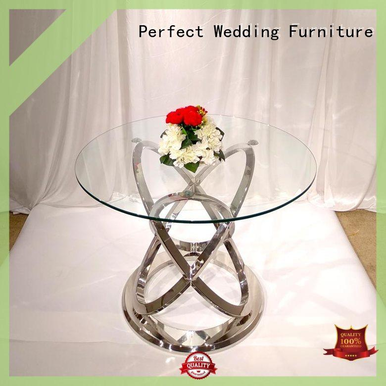 simple round wedding tables with contemporary manufacturing series for hotel