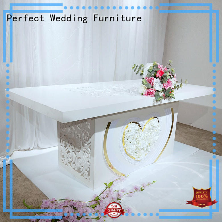perfectly wedding top table ideas in various sizes for hotel
