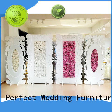 high quality wedding screen decorations white to meet your needs for wedding ceremony