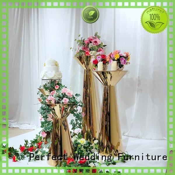 durable metal flower stand pedestal wholesale for hotel