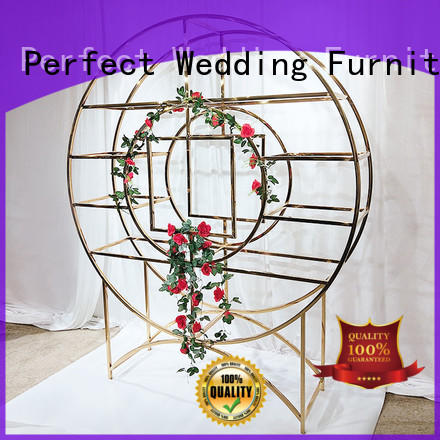 Perfect Wedding Furniture stainless decorative shelving units manufacturers for indoors