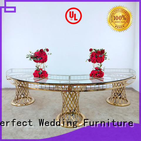 durable wedding reception table rectanglein various shapes for wedding ceremony