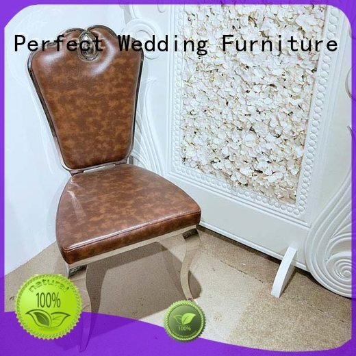 stainless steel wedding chair laser manufacturer for hotel