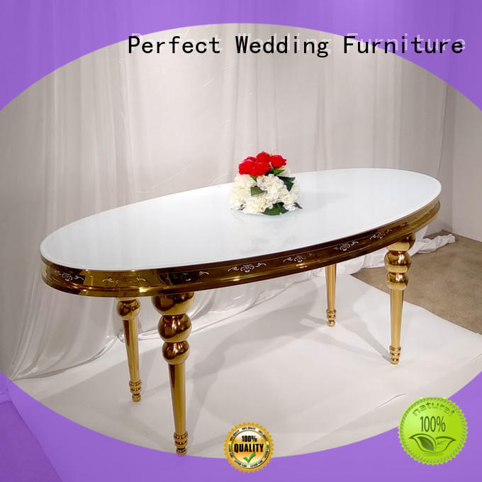 Perfect Wedding Furniture rectangle round wedding tables factory for wedding ceremony