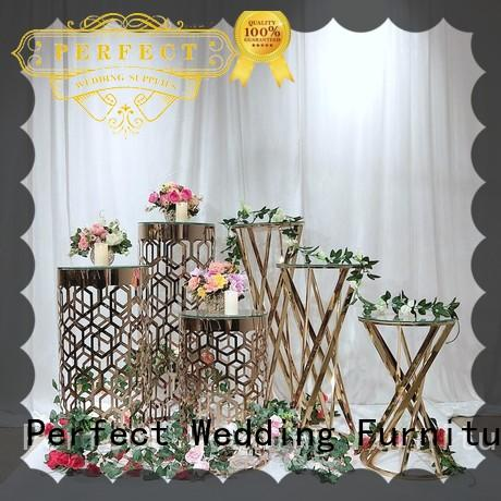 Perfect Wedding Furniture durable flower stand for wedding decoration color for wedding ceremony