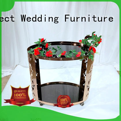 Perfect Wedding Furniture Wholesale serving cart Supply for wedding ceremony