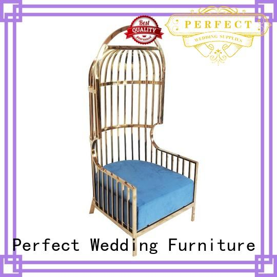 Perfect Wedding Furniture various king and queen chairs manufacturer for wedding ceremony