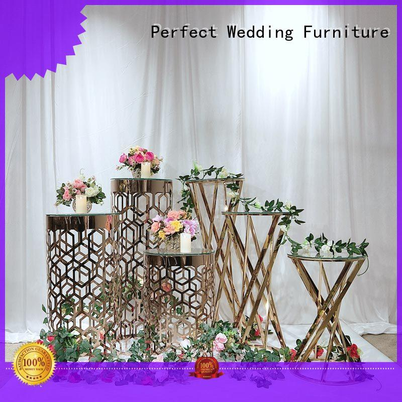 Perfect Wedding Furniture high quality wedding flower stand supplier for hotel