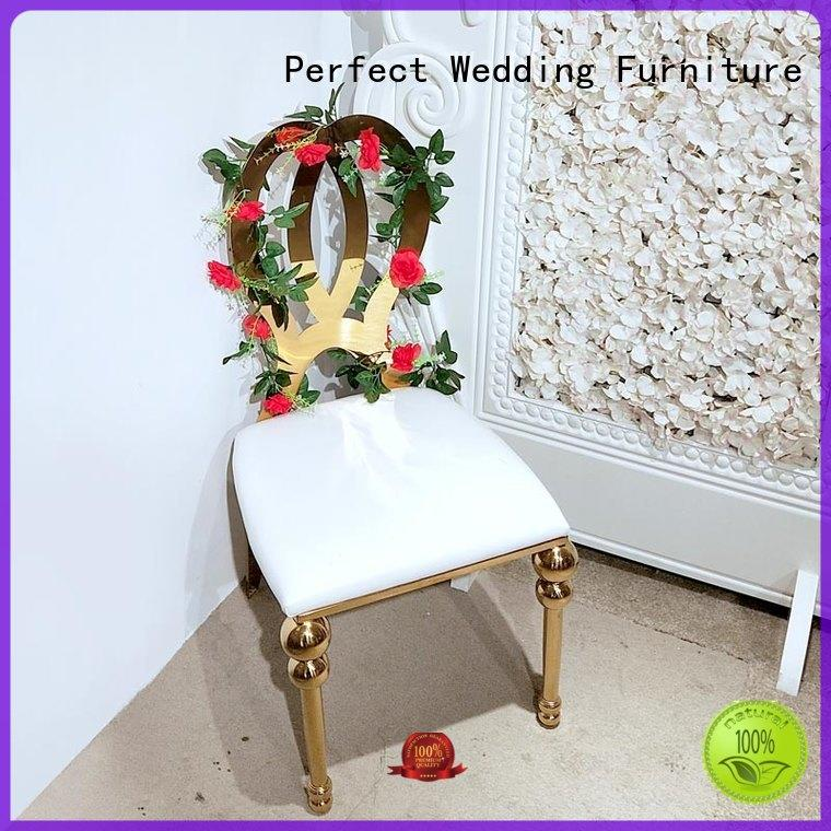 Perfect Wedding Furniture durable wedding reception chairs manufacturer for hotel