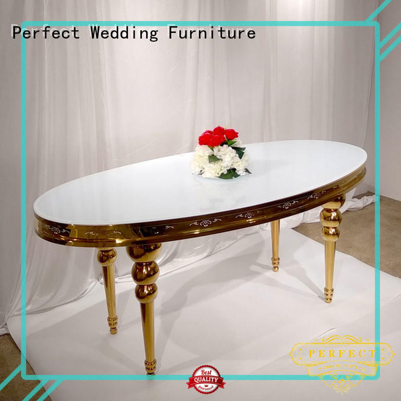 customized wedding reception dining table manufacturer for dining room Perfect Wedding Furniture