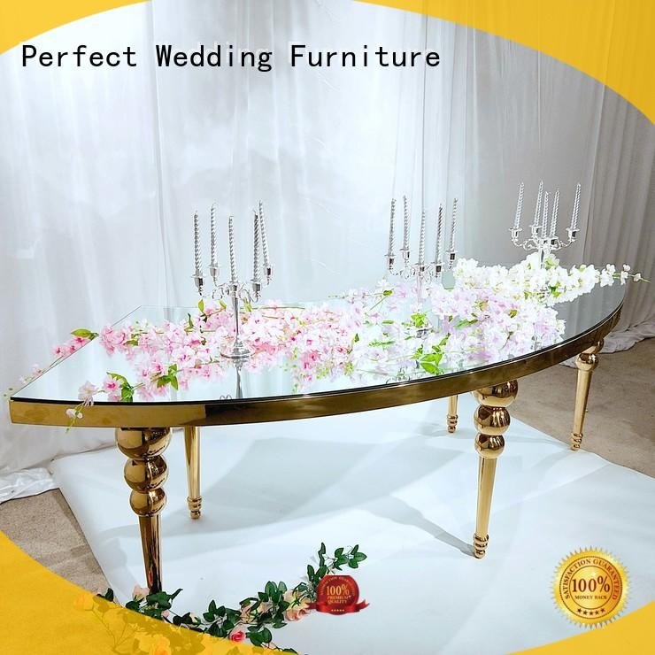 Perfect Wedding Furniture perfectly top table wedding in various sizes for hotel