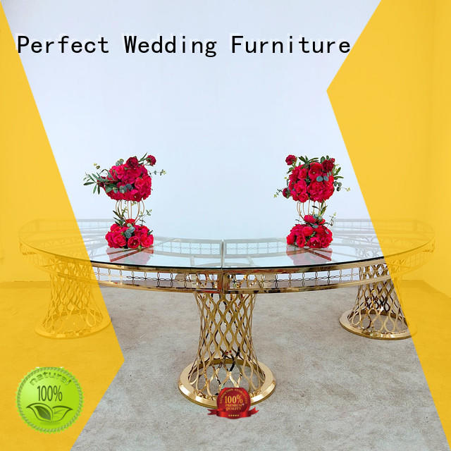 high quality wedding top table ideas round supplier for dining room