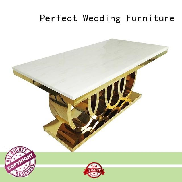 Perfect Wedding Furniture big wedding display table with contemporary manufacturing series for dining room