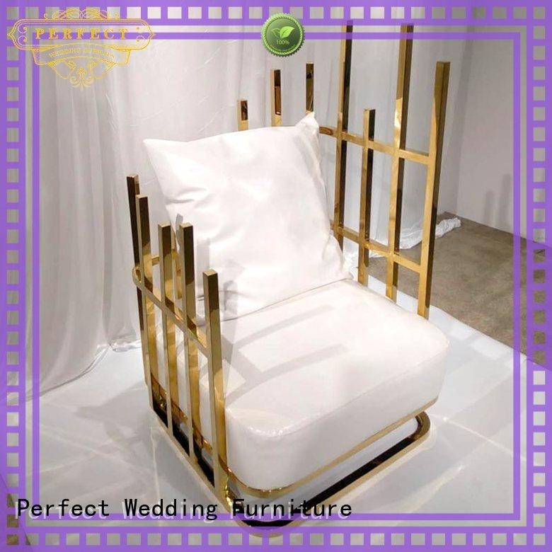 Perfect Wedding Furniture traditional king and queen chairs for weddings to meet your needs for hotel