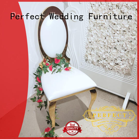 Perfect Wedding Furniture stainless steel wedding chair series for wedding ceremony