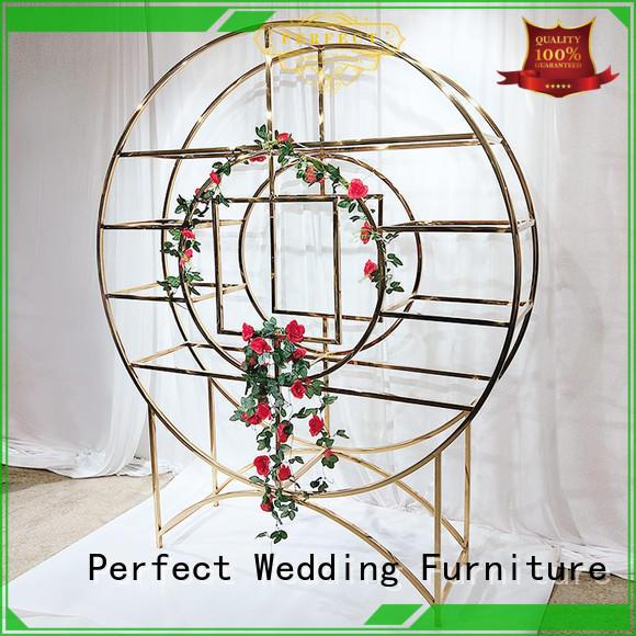 Wholesale decorative shelves steel manufacturers for wedding ceremony