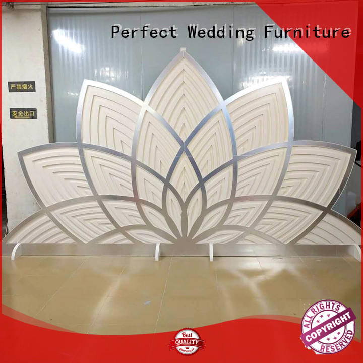 Perfect Wedding Furniture gold wedding screen to meet your needs for wedding ceremony