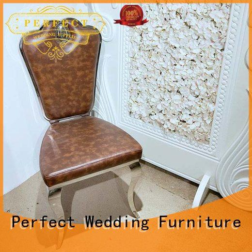 Perfect Wedding Furniture gold gold wedding chairs Supply for wedding ceremony