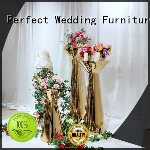 Perfect Wedding Furniture steel flower stands for wedding aisle manufacturers for home
